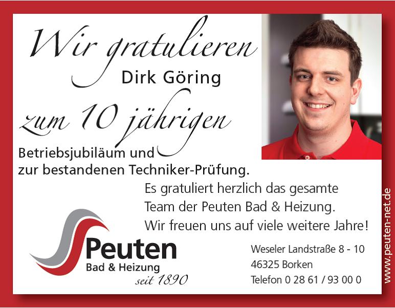 Staatlich Geprüfter Techniker Dirk Göring